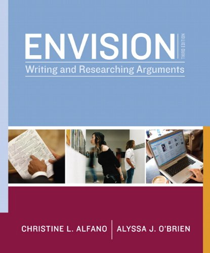 Envision: Writing and Researching Arguments (3
