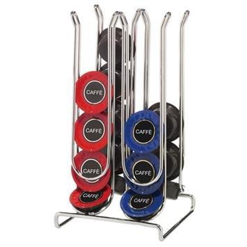 Dispenser portacapsule in acciaio organizer porta 20 capsule lavazza a modo mio - Porta orologi ikea ...