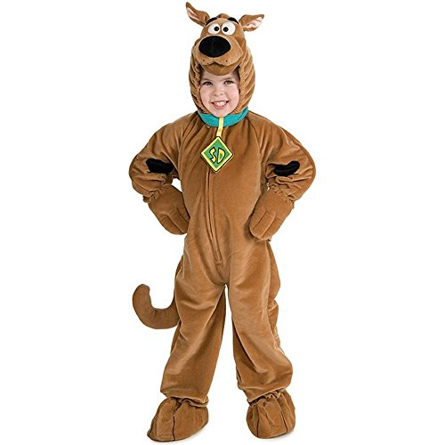 Scooby-Doo Deluxe Kids Costume - Small (4-6)