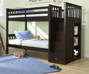 Review Mountain Staircase Bunk Bed In Mountain Furniture