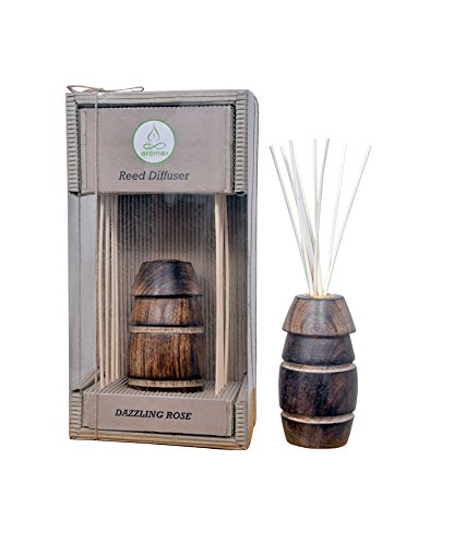 Aromax Dazzling Rose Reed Diffuser Set