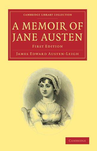 A Memoir of Jane Austen (Collection de la bibliothèque de Cambridge - études littéraires)
