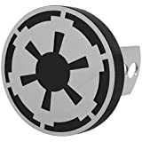 Star Wars Galactic Empire Logo Solid Metal Hitch Plug Receiver Cover