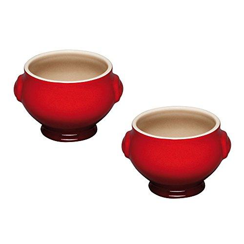 Le Creuset Set de 2 Bols à Soupe Cerise 91017511060000