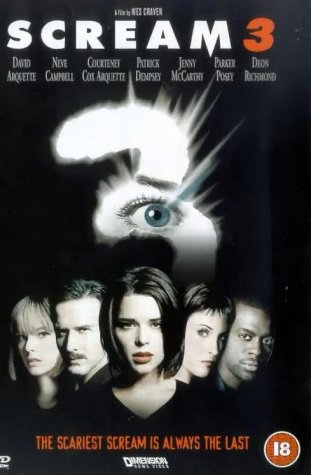 Scream 3 [DVD] [2000]