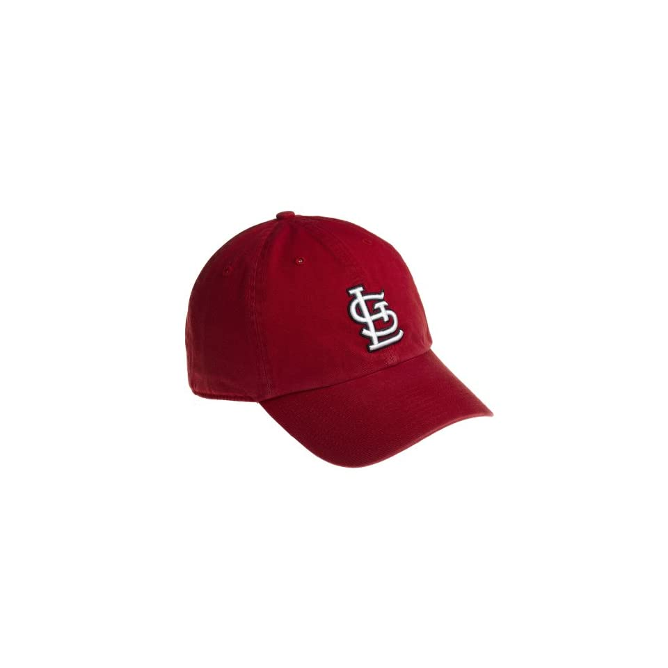 MLB St. Louis Cardinals Franchise Fitted Baseball Cap, Red, Large