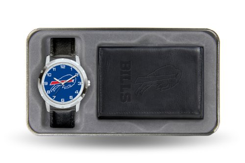 NFL Buffalo Bills Men's Watch and Wallet Set at Amazon.com