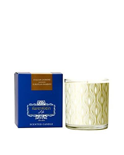 Karen Klein Life Florentine 10.25-Oz. Candle, Italian Jasmine/European Bamboo