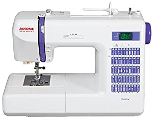 """Janome DC2014 Computerized Sewing Machine with 50 Built-In Stitches w/ Hard Case + Walking Foot + 1/4"""" Foot and More! Replaces the Janome DC2013"""