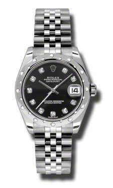Rolex Watches - Datejust 31mm Steel 24 Diamond Bezel - Jublilee Bracelet