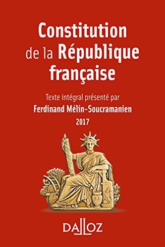 Constitution de la République française 2017