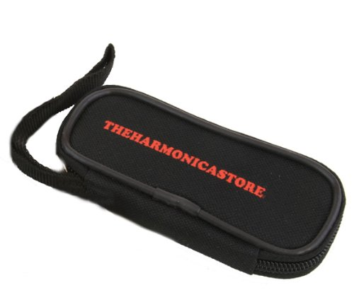 The Instrument Store Harmonica Pouch, Custom fit for 10 Hole Diatonic, Blues Harp and Marine Band Harmonicas