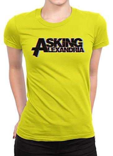 onetwotee -  T-shirt - Donna giallo XXL