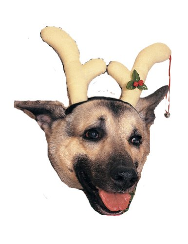 Christmas Costumes Item - Reindeer Dog Antlers