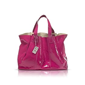 Francesco Biasia Emily - Patent Leather Tote Bag Passion