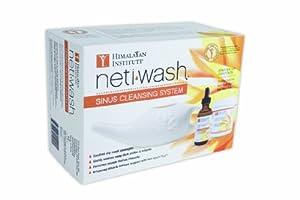 Himalayan Institute Original Neti Pot Complete Sinus Cleansing System Starter Kit