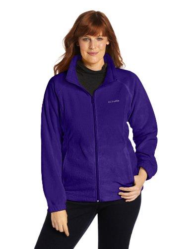 Columbia Women's Plus-Size Benton Springs Full Zip Plus,