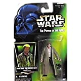 Star Wars Power of the Force Green Card Han Solo in Endor Gear Action Figure