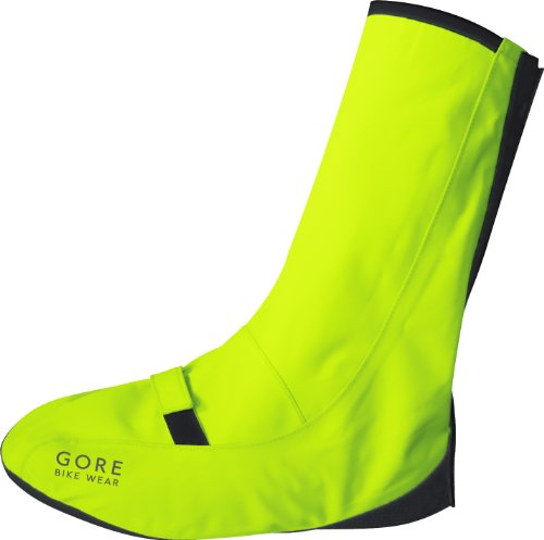 Gore Bike Wear Universal City Neon Overshoes - Neon Yellow, 38-41