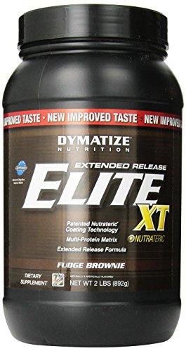 Dymatize Elite Xt Dietary Supplement, Fudge Brownie, 2 Pound