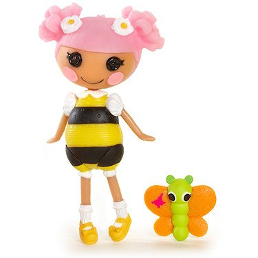 Mini Lalaloopsy Blossom's a Busy Bee 3 Inch Figure - 1