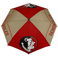 NCAA Florida State Seminoles 62-Inch WindSheer Hybrid Umbrella by Team Effort