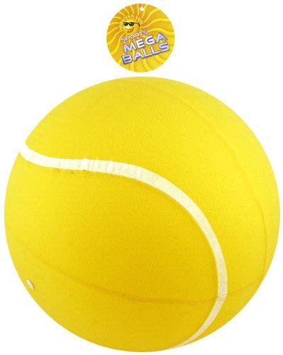 25cm Tennis jaune géant Mega Ball - plein air jouets et jeux (HL144)