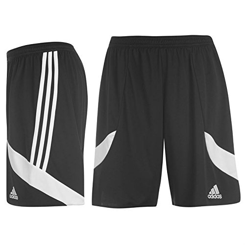 adidas Mens Nova 14 Contrast Side Panel Training Sport Ultimate Style Shorts Black/White M
