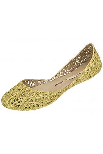 Melissa, Ballerine donna Oro Gold Glitter, Oro (Gold Glitter), 37.5