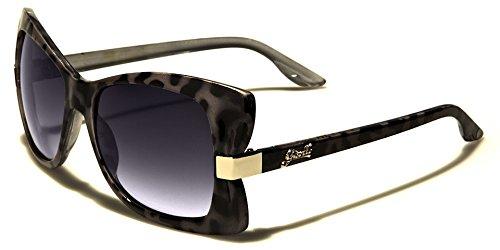 Reality Runway Model Butterfly Dream Designer Sun Shades Eye Glasses (Gray Front)