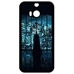 Modern Batman Protective Black Case For HTC One M8 at Gotham City Store