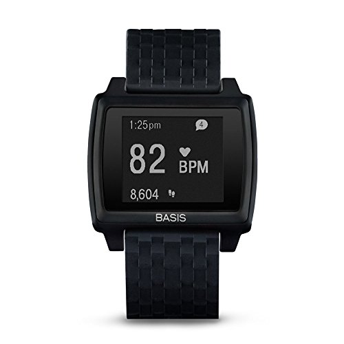 Basis Peak – Ultimate Fitness and Sleep Tracker (Matte Black/Black)