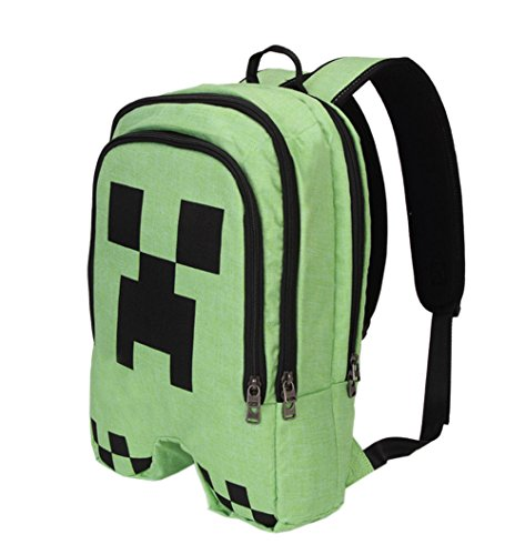 Ziweiba-Huge-Bag-School-Rucksack-Classic-College-Laptop-Bag-Green