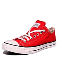 Converse Unisex 0104192D Red Canvas Casual Shoes