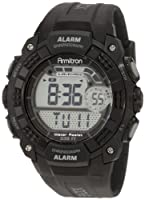 Armitron Men's 408209BLK Chronograph Black Digital Sport Watch from Armitron