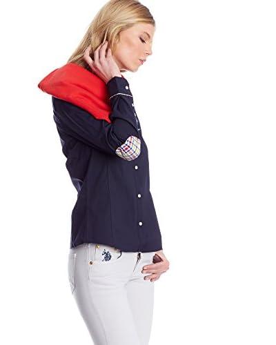 US Polo Assn. Bluse klassisch