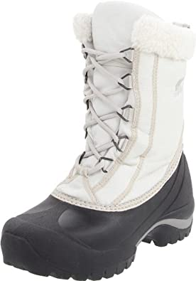 Sorel Women's Cumberland NL1436 Boot, Turtle Dove/Silver Lining, 8 M US