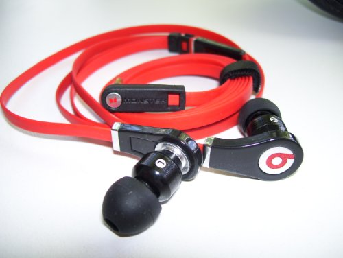 Red Beats By Dr. Dre Tour Earphones