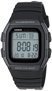 Casio Men's W96H-1BV Classic Sport Watch