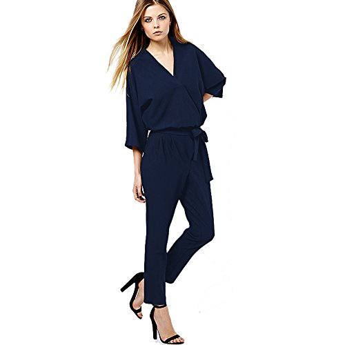 K.Z.B JUMPSUIT - Tuta -  donna blu scuro Medium