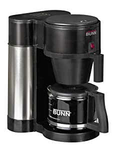 BUNN NHBB Velocity Brew 10-Cup Home Coffee Brewer, Black by Bunn