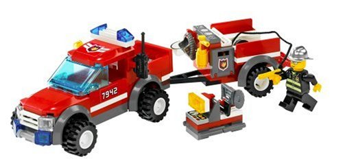 417Y4chshNL LEGO City Off Road Fire Rescue (7942)