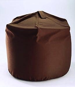 Hallways Extra Large Size Brown Cotton Bean Bag With Beans Hallways ®
