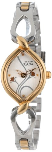Titan Raga Analog Silver Dial Women's Watch – NE2455BM01