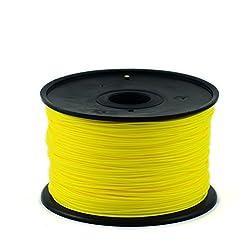 3D Printer Filament PLA (Yellow, 1.75mm)