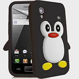Coque en Silicone Penguin Case AOA CasesTM: High tech