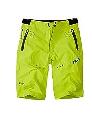 2015 Madison Mens Flux Shorts Limeaid X-Large