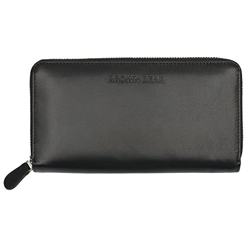 Brown Bear Classic Collection Black Women's Wallets - B00YN19N82
