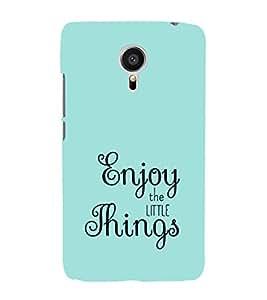 EPICCASE Enjoy the little things Mobile Back Case Cover For Meizu MX 5 (Designer Case)