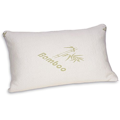 FY-Living Shredded Memory Foam Pillow with Bamboo Cover, Neck - Import It All